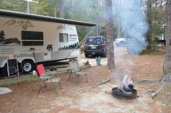 Camping At Falling Waters State Park