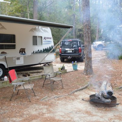 Camping at Falling Waters State Park in Chipley, Florida