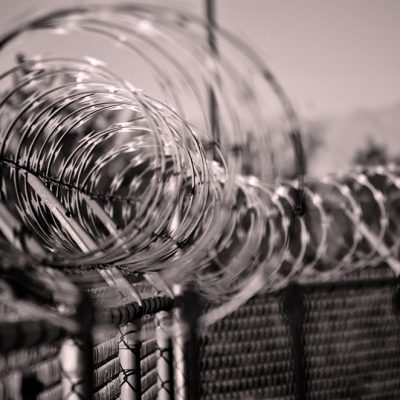 General Patton Memorial Museum, Concertina Wire