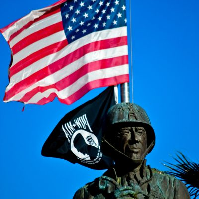 General Patton Memorial Museum statue
