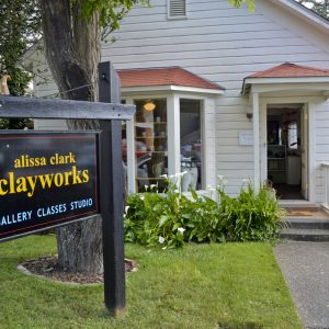 Clayworks Gallery in Florence, Oregon